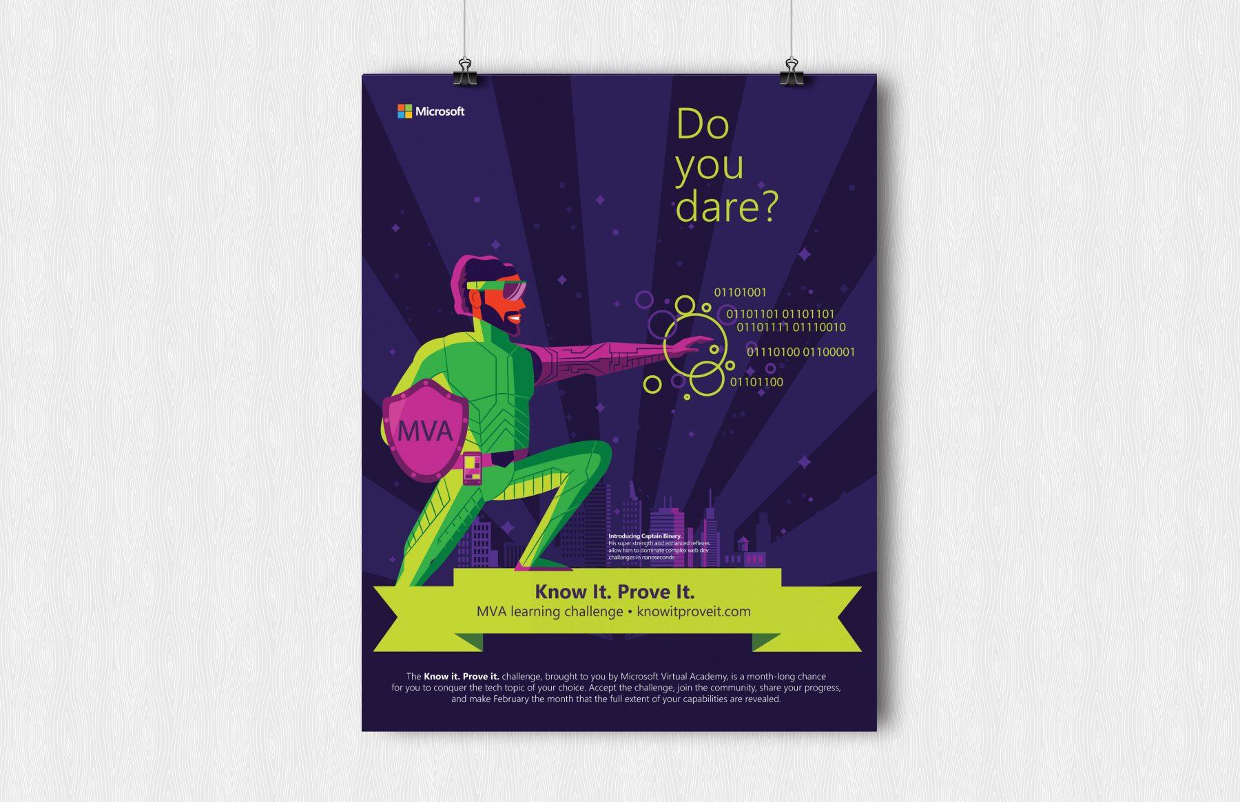 microsoft kipi dare poster