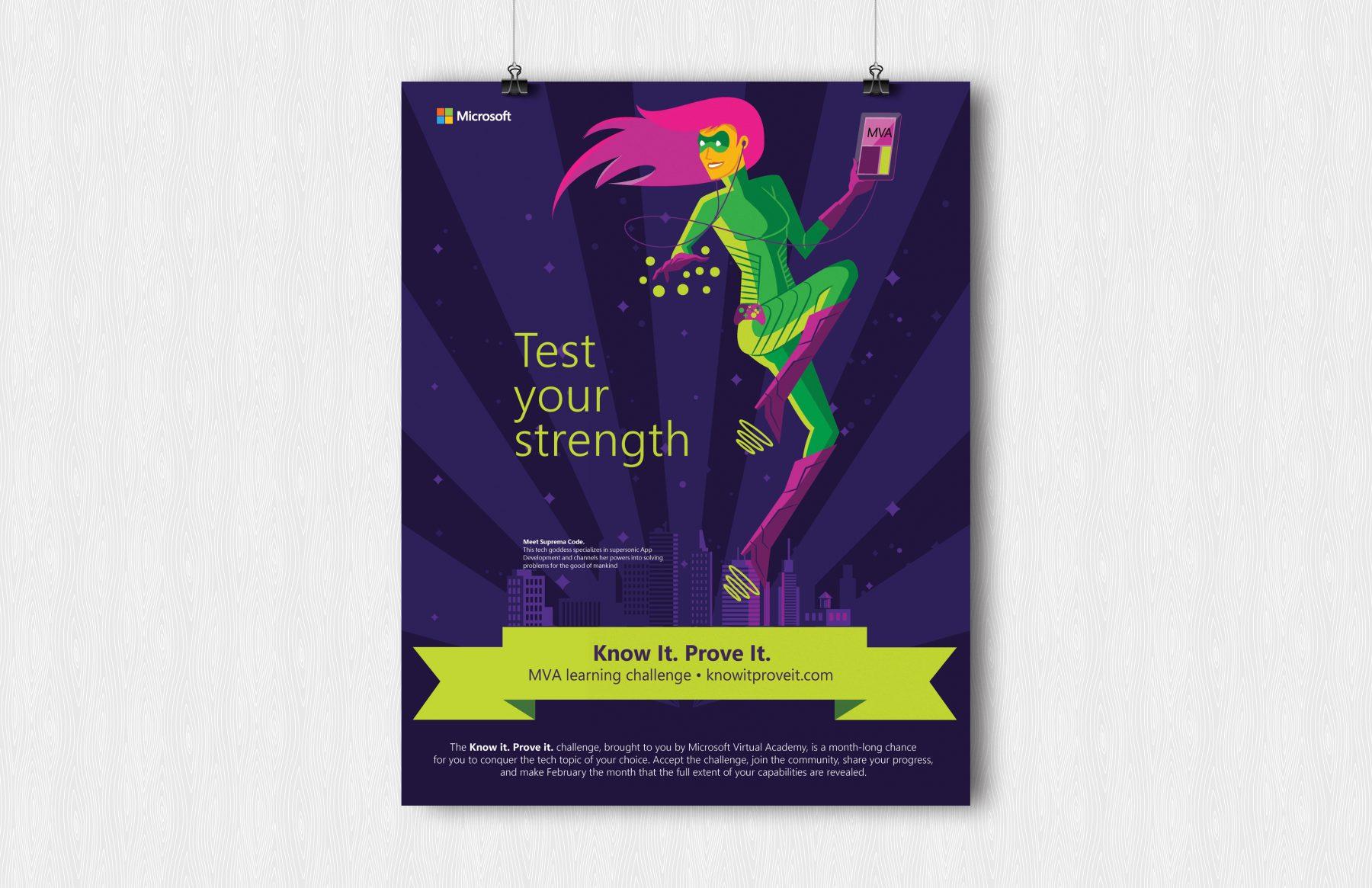 microsoft kipi strength poster