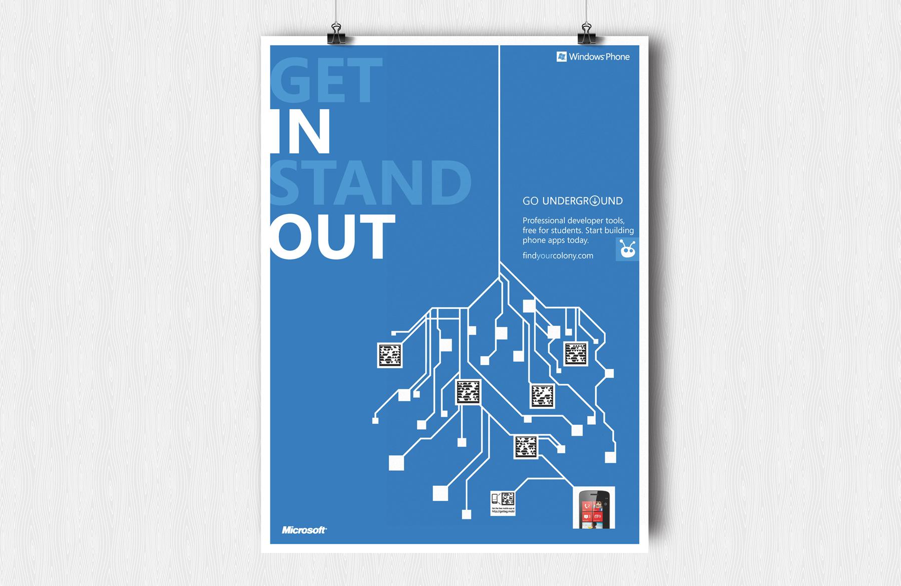 microsoft underground poster