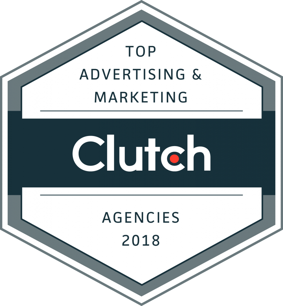 Clutch Top Advertising and Marketing Agencies Badge